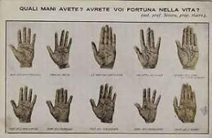 immagine di mani di varie forme