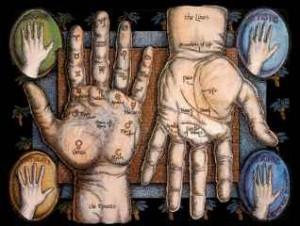 immagine che ritrae la posizione delle dita nella mano